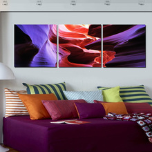New arrival modular Abstract Painting Canvas Decor Large Wall Art Paintings Color Blue Red Stone Artwork Pictures