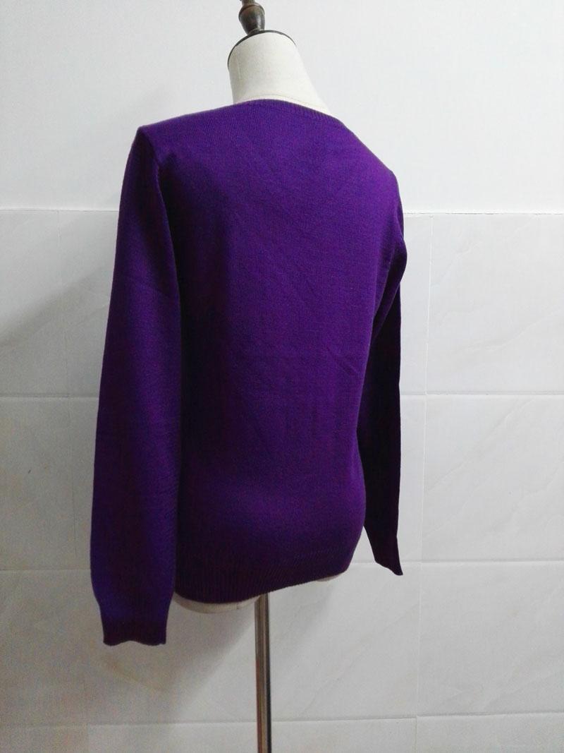 Cashmere Sweater V Neck Women Fashion Autumn Pullovers Knit Cashmere Sweater Women Slim Knit Coat Female Blouse Winter Knitwear 46