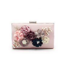 Luxury bags women famous brands high quality leather handbags messenger bags shoulder bag flowers decorative purse(C902)
