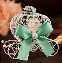 20pcs Iron small Carriage Candy box wedding candy box birthday party baby shower wedding decoration candy box party favor