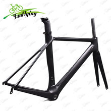 Brand New 2018 Carbon Road Bicycle Frame BSA 700C Road Cycling Race Bike Frames , OEM Frame Factory Pirce , Carbon Bike Frame(China)