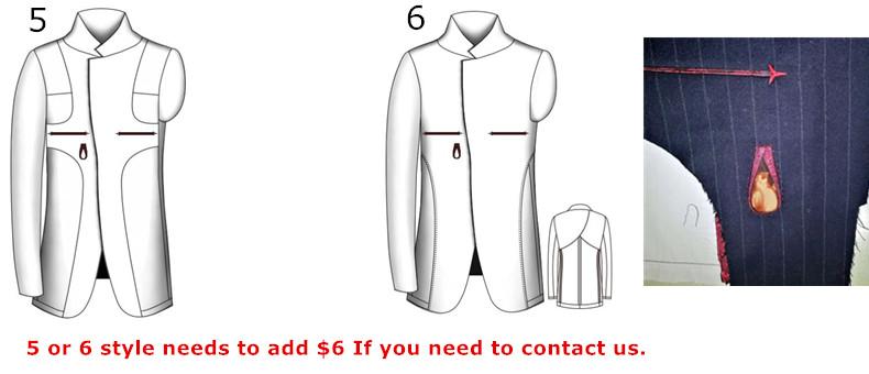 HTB1.SIgajihSKJjy0Feq6zJtpXaH - Custom Made Men's Wedding Suits Groom Tuxedos Jacket+Pant+Tie Formal Suits Business Causal Slim Navy Plaid Custom Suit Plus Size