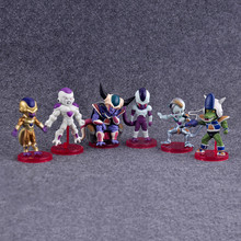 Anime Dragon Ball Z Figure F Freeza Juguetes PVC Action Figure Brinquedos Collectible Model Kids Toys 6pcs/set(China)
