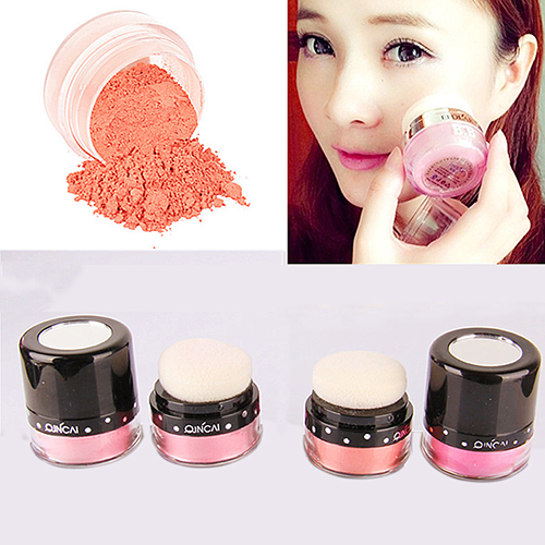 Wholesale Price Women Makeup Cosmetic Cheek Beauty Makeup Blusher Soft Natural Blush Powder(China)