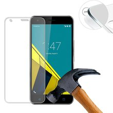 2 PCS Hard Protective Tempered Glass screen Display protector for Vodafone Samrt Ultra 6 9H 0,3mm clear 2.5D(China)