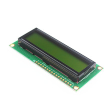 LCD1602 LCD monitor 1602 5V green screen and white code for arduino Diy Kit(China)