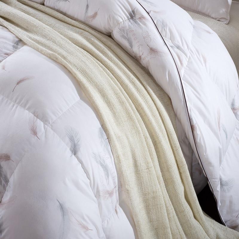 100% white Goose Down, Quilt, Comforter Blanket Duvet 18