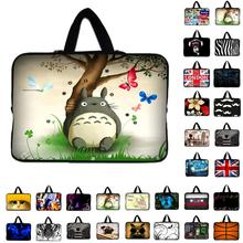 7 10 11.6 13.3 14.4 15.6 17.3 inch Totoro Laptop Bag tablet sleeve Case For Macbook Air/Pro/Retina Computer cover(China)