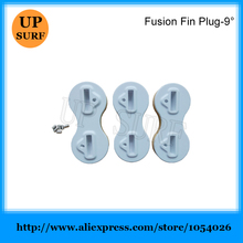Surf FCS Fusion Plugs 9 Degree Fusion Fin Plug Surfboard Fin Box