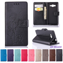Case for Samsung Galaxy Grand Prime G531 G531F G531H SM-G531F SM-G531H SM-G531H/DS Wallet card slot bracket mobile phone holster