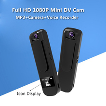 Full HD 1080P Mini Camera 180 Degree Rotate Voice Recording Micro Pen Camera Mini DV DVR Camera Video Recorder With Small Screen(China)