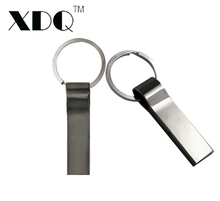 Hot sale 32GB 64GB 128GB USB Flash Drive with key ring metal pen drive 8GB 16GB memory stick u disk portable pendrive USB stick