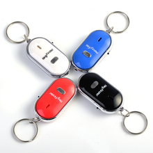 Wireless whistle key finder electronic anti-theft stainless steel plastic finder key chain anti-lost device(China)
