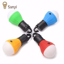 Sanyi Emergency Camping Tent Lamp Soft Light LED Bulb Lamp Portable Energy Saving Lamp Outdoor Hiking Camping Lanterns
