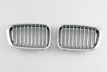 Chrome Grille Grill Assembly For BMW E46 3-Series 1998 1999 2000 2001 4 Door Coupe [ QPL26]