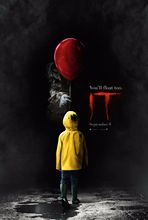 "IT Movie Poster Stephen King Horror 2017 Film Art Print 24x36""(China)"
