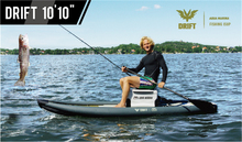 "Aqua Marina Drift Fishing 10'10""BT-18DRP inflatable sup board stand up paddle surfing board fishing SUP board with incubator(China)"