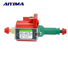 AIYIMA 1pcs AC220V Electromagnetic Pump Water Pumps 22W For Steam Cleaner Home Appliances ULKA HF Original Imported(China)