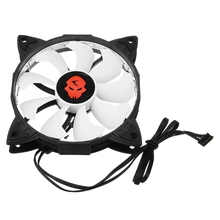 3PCS RGB Adjustable LED Cooling Fan 120mm With Controller Remote For Computer High Quality Computer Cooling Cooler Fan For CPU