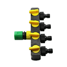 1pcs Shunt Converter Plus Vegetable Garden Quick Connectors Agriculture Irrigation And Industrial Water Control Valve(China)