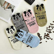 Popular cartoon mickey socks super lovely summer low cut cool socks Original brand good quality soft socks cheap sale