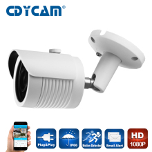 2MP IP Camera 1080P Full HD camera IP outdoor p2p Night Vision Waterproof Built in POE Camera Motion detection IR-CUT,ONVIF 2.4(China)