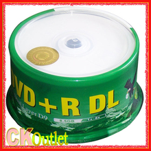 8.5gb dvd r Banana DVD+R DL 8.5GB 50Pcs + Free Gift 8X D9 Double Layer Printable Recordable Disc Media  DVD disc