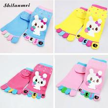 2016 Cotton Five Toes Sweat Cute Christmas Design Warm Soft Baby Socks Slip-resistant Cartoon New Born Children 's Kid 6 Style