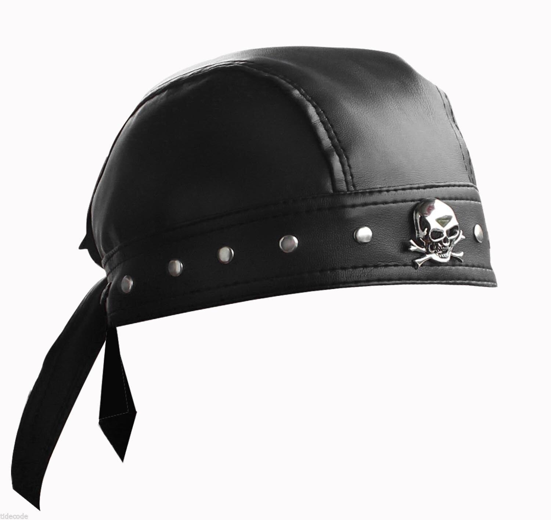 Men Women Cotton Biker Skull Cap Motorcycle Bandana Head Wrap Du Doo Do Rag USA