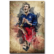 NICOLESHENTING Gareth Bale Super Soccer Football Star Silk Poster 13x20 inch Sports Pictures for Room Wall Decor 002