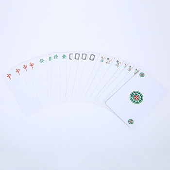 MAKIMAMA 144pcs Education Funny Chinese Traditional Mahjong