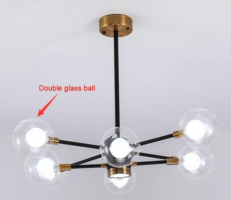 Nordic Modern Molecular Magic Bean Branch Pendant Lights Italian LED Hanging Lamp for Dining Room Kitchen living room bar Lighting 04