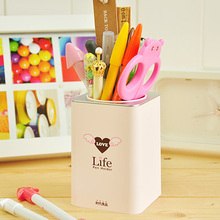 Korea stationery the age of high quality fashion brief pen plastic pen(China)
