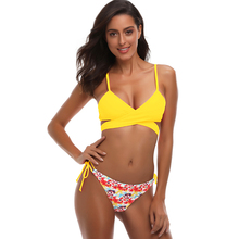 Buy 2018 Sexy Cross Brazilian Bikinis Women Swimwear Swimsuit Push Bikini Set Halter Top Beach Bathing Suits Swim Wear