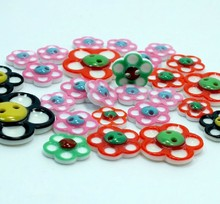 Free shipping!Two holes Button clasp multicolor plum flower buttons Baby sweater buckle DIY Accessories Mix Size 12-29MM