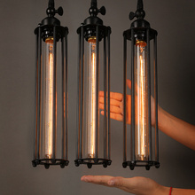 Vintage Country Retro Pendant Lights Steam Punk Industrial Style Single Head With Edison Light Bulb Corridor Restaurant Lamps