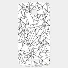 Cracked White Marble Patterned mobile phone cases For HTC Desire 510 626 616 10 Pro 830 One M10 M9 Plus M8 mini M7 M4 X9 A9 Max