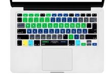 HRH Serato DJ  Functional Shortcut Hotkey Silicone Keyboard Cover Skin for Macbook Air Pro Retina 13 15 17 Release Before 2016