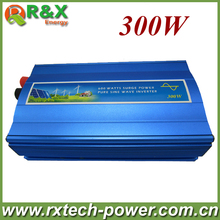 300W off grid inverter, pure sine wave inverter for solar and wind, 12V/24V DC to 100/110/120/220/230/240V AC.