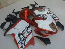 Motorcycle Fairing kit for SUZUKI Hayabusa GSXR1300 96 99 07 GSXR 1300 1996 1999 2007 ABS Red white Fairings set+7gifts SD09