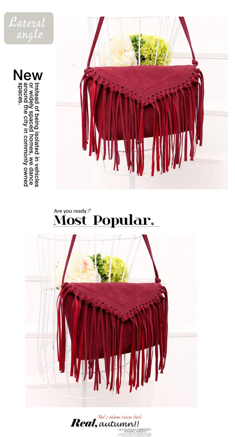 women bag fringe tassel bags (10)
