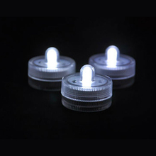 Express Shipping 100pcs/lot Submersible Led Candle light, Waterproof led light for wedding party vases decorations
