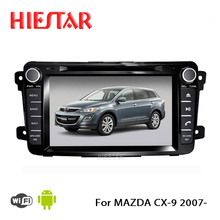 Auto Car GPS Navi Player DVD Radio 1024*600 Mutli-Touch Screen 8'' Android 7.1/6.0 8 band wifi ddr3 For MAZDA CX-9 CX9 CX 9 2007(Hong Kong)
