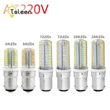 Cheap 1 4 8pcs B15 Led Corn Lamps Ultra Bright Crystal Gel AC 220V 6 7 9W Warm Cool White 3014 SMD Home Decoration