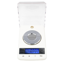 Hot sale 50g 0.001g High Precision Digital Electronic Diamond Jewelry Gem Carat Scales Counting Function Portable Weight Balance(China)