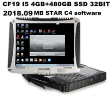 Toughbook Panasonic CF19 4G ноутбук с 2018 09 DTS Monaco8 + Vediamo установлен в HDD/SSD для мб звезды C4 Star C5(China)