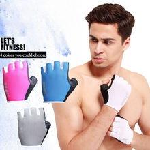 Buy Half Finger Men Women Cycling Gloves Outdoor Sport Bike Bicycle Luvas bisiklet Summer Anti-slip Breathable Fitness Gloves for $4.49 in AliExpress store