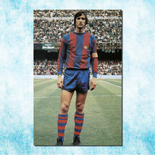 Johan Cruyff Football Legend Art Silk Canbvas Poster 13x20 inch Netherlands Soccer Star Pictures for Room Decor(more)-2