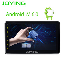 JOYING latest 1din android 6.0 car radio stereo with digital amplifier video out 7inch HD touch screen head unit GPS navi system