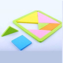 25PCS/LOT,Foam jigsaw puzzle,Geometric shape puzzle,Early educational toys,Kids toys,Promotion toy,Kids party favor.Wholesale.(China)